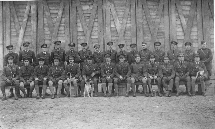 No 62 Sqn RFC Officers, late 1918
