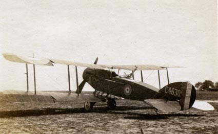 Bristol F2b two seat fighter, C4630.